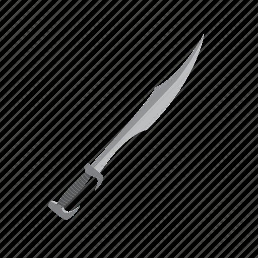 attack, blade, item, melee, slash, sword, weapon icon