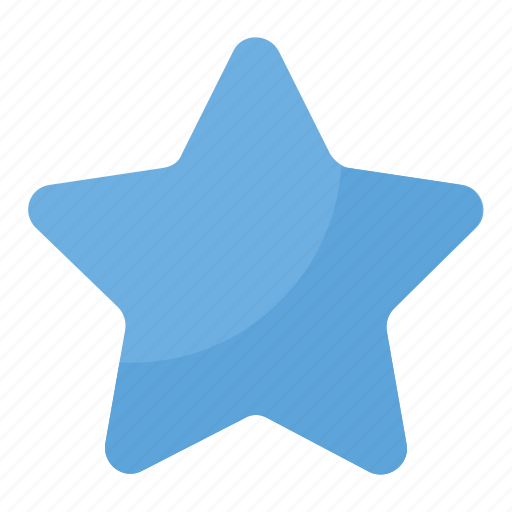 favorite, five pointed star, ranking, rating symbol, star icon