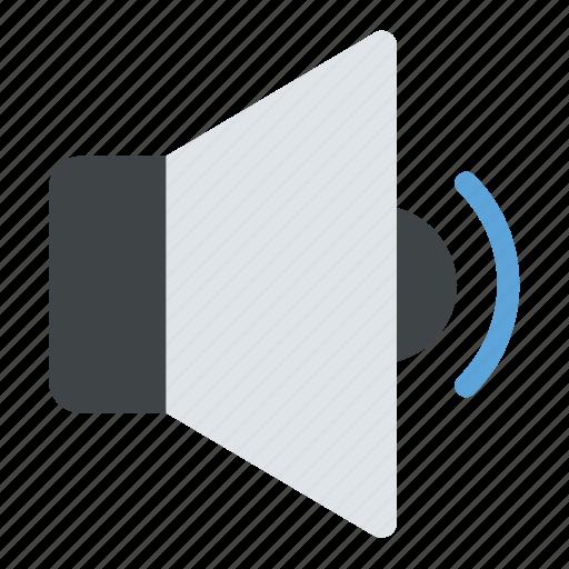 audio symbol, low volume, speaker min, volume interface, volume symbol icon
