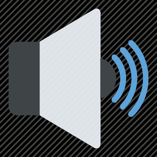 audio symbol, loud, speaker volume, volume interface, volume symbol icon