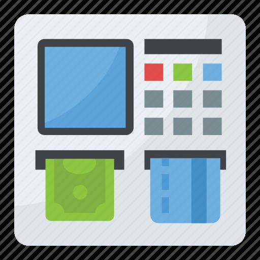 atm, atm machine, automated teller machine, cash dispenser, cash machine icon