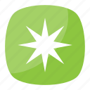 asterisk, little star, reference mark, six-pointed asterisk, typographical symbol icon