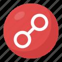 chain emoji, link symbol, link symbol emoji, web link, webelement icon