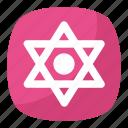 jewish symbol emoji, magen david, religious symbol, shield of david, star of david icon