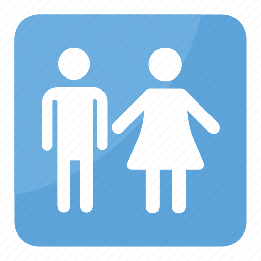 Bathroom sign, family restroom sign, men and women restroom sign, restroom symbol, unisex restroom icon