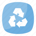 clockwise pointing arrows, recycling button, recycling symbol, recycling symbol emoji, universal recycling symbol icon