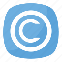 brand management, copyright, copyright button, copyright symbol, legal right icon