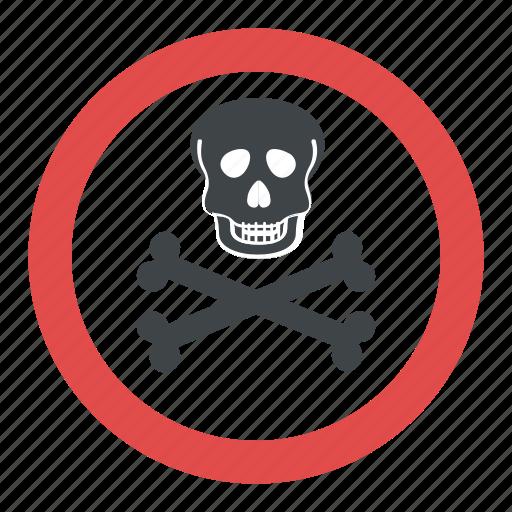 hazard symbol poison symbol skull and crossbones toxic symbol