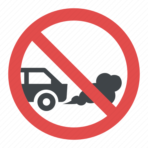Idling Prohibited No Idling Sign Road Traffic Sign Switch Off