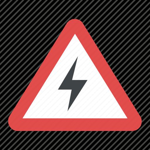 Hazard Alert Symbol High Voltage Symbol Risk Of Electric Shock