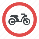 no mopeds, road instructions, road safety symbol, road sign, traffic sign icon
