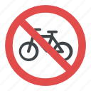 no cycles, road instructions, road safety symbol, road sign, traffic sign icon