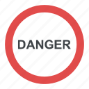danger ahead, danger sign, road sign, traffic warnings, warning sign icon