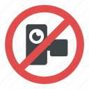 camera prohibited sign, no camera allowed sign, no camera sign, no photography, no video sign icon