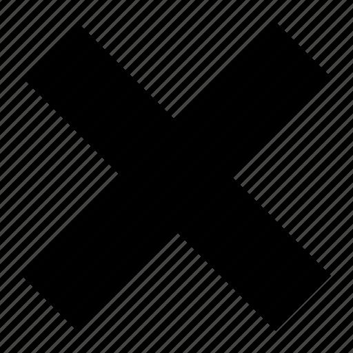 cancel, close, delete, remove, stop icon