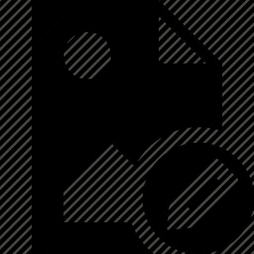 document, edit, file, image, picture icon