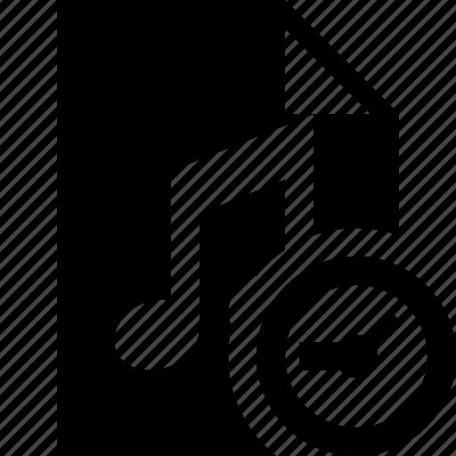 audio, clock, document, file, music icon