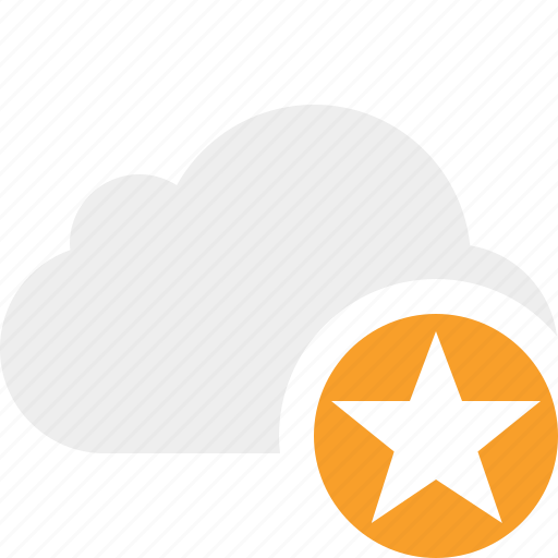 Cloud, network, star, storage, weather icon - Download on Iconfinder