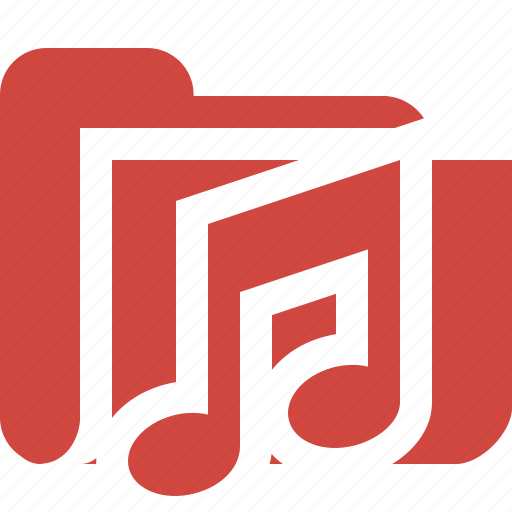 Audio, folder, media, music, songs icon - Download on Iconfinder