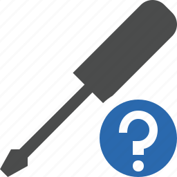 help, repair, screwdriver, tool, tools icon