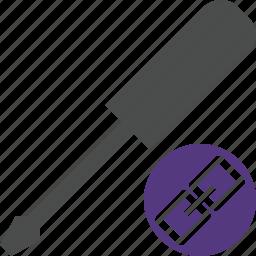 link, repair, screwdriver, tool, tools icon