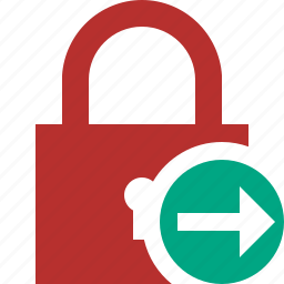 access, lock, next, password, protection, secure icon
