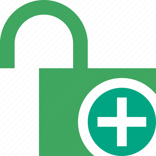access, add, password, protection, secure, unlock icon