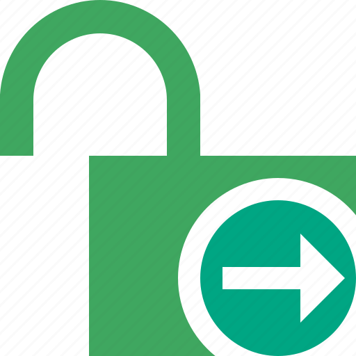 access, next, password, protection, secure, unlock icon