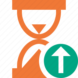 alarm, clock, timer, upload, wait, watch icon