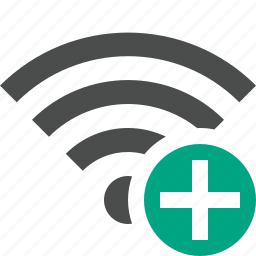add, connection, fi, internet, wi, wifi, wireless icon