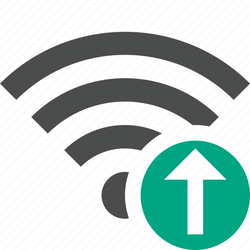 connection, fi, internet, upload, wi, wifi, wireless icon