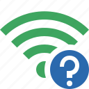connection, fi, green, help, internet, wi, wireless icon