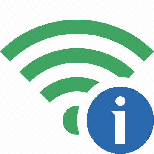 connection, fi, green, information, internet, wi, wireless icon