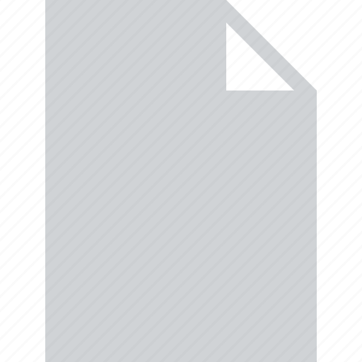 blank, document, file, page icon