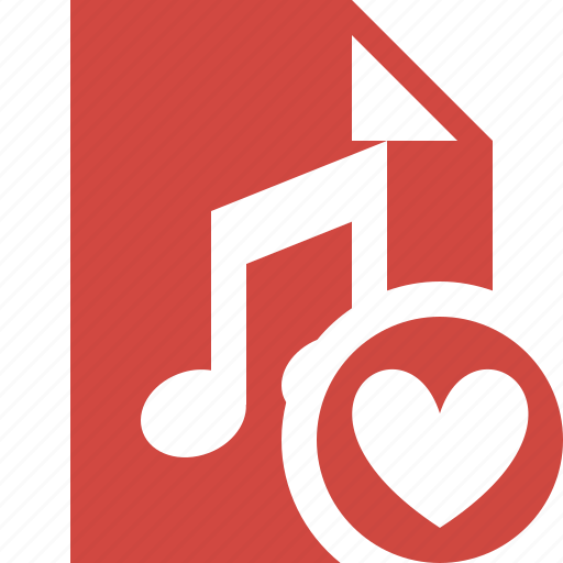 audio, document, favorites, file, music icon