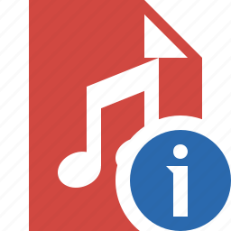 audio, document, file, information, music icon