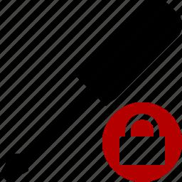 lock, repair, screwdriver, tool, tools icon