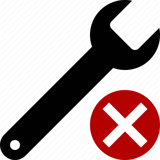 cancel, repair, spanner, tool, tools, wrench icon