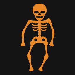 celebration, halloween, holiday, skeleton, skull, spooky icon