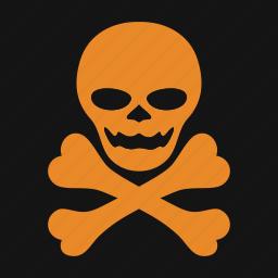 celebration, crossbones, halloween, holiday, skeleton, skull, spooky icon
