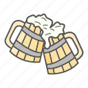 beer, drink, finland, mug icon