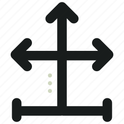 abstract, arrows, creative, design, shapes, symbols icon