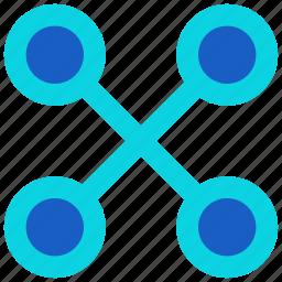 abstract, circle, circles, design, shape, symbols icon