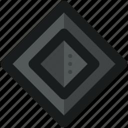 abstract, creative, design, diamond, shape, sign, symbols icon