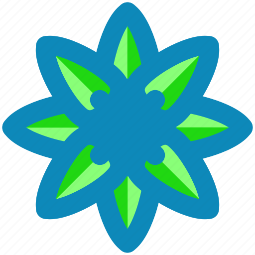 Floral, abstract, creative, design, flower, sign, symbols icon - Download on Iconfinder