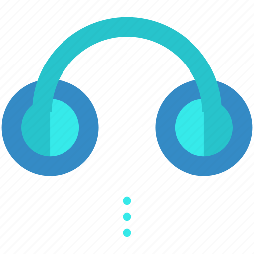 headphone, headphones, headset, listen, sound, symbols icon