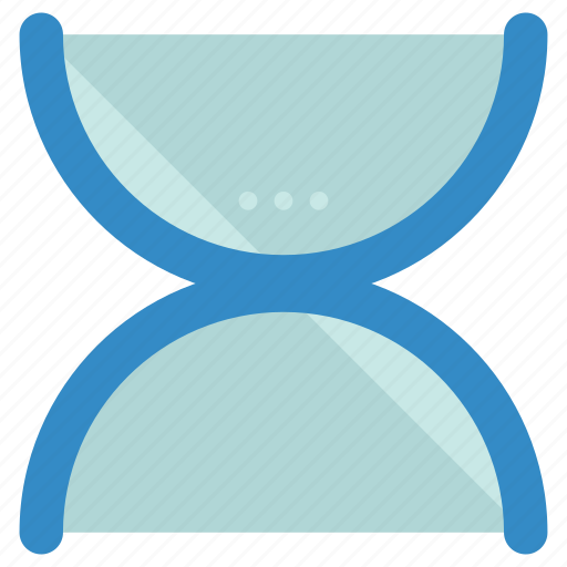abstract, creative, design, hourglass, shape, symbols icon