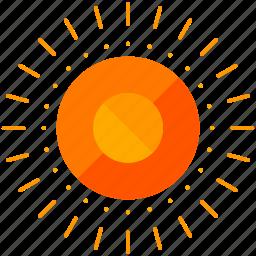 sun, symbols icon