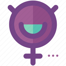 female, symbols icon
