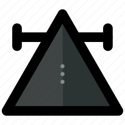 abstract, symbols, triangle icon